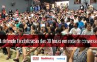 FASUBRA defende flexibilização das 30 horas em roda de conversa na UnB