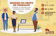 Próxima reunião do GT sobre a IN 01/2018 acontecerá no campus Rebouças