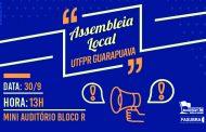 Sinditest-PR convoca TAEs da UTFPR de Guarapuava para Assembleia Local