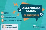 Sinditest-PR convoca Assembleia Geral para deliberar sobre a Greve da Educação