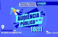 Judicialização: Audiência Pública no TRT-PR na segunda (18) vai tratar da demissão dos funparianos