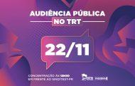 Sinditest-PR convoca toda categoria para mobilização em nova audiência pública no TRT (22)