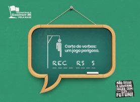 Corte de verbas: um jogo perigoso.  R E C _ R S _ S