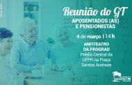 Sinditest-PR retoma as atividades do GT Aposentados na quarta-feira (4)
