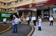 Ato no HC traz a luta por direitos na pandemia e lembra os que se foram nessa batalha