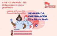 Semana da Enfermagem terá debates e ato em defesa dos trabalhadores